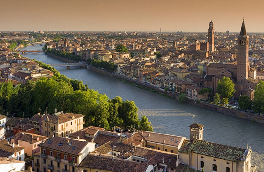 Architecture Verona Panorama Slovenia Tours