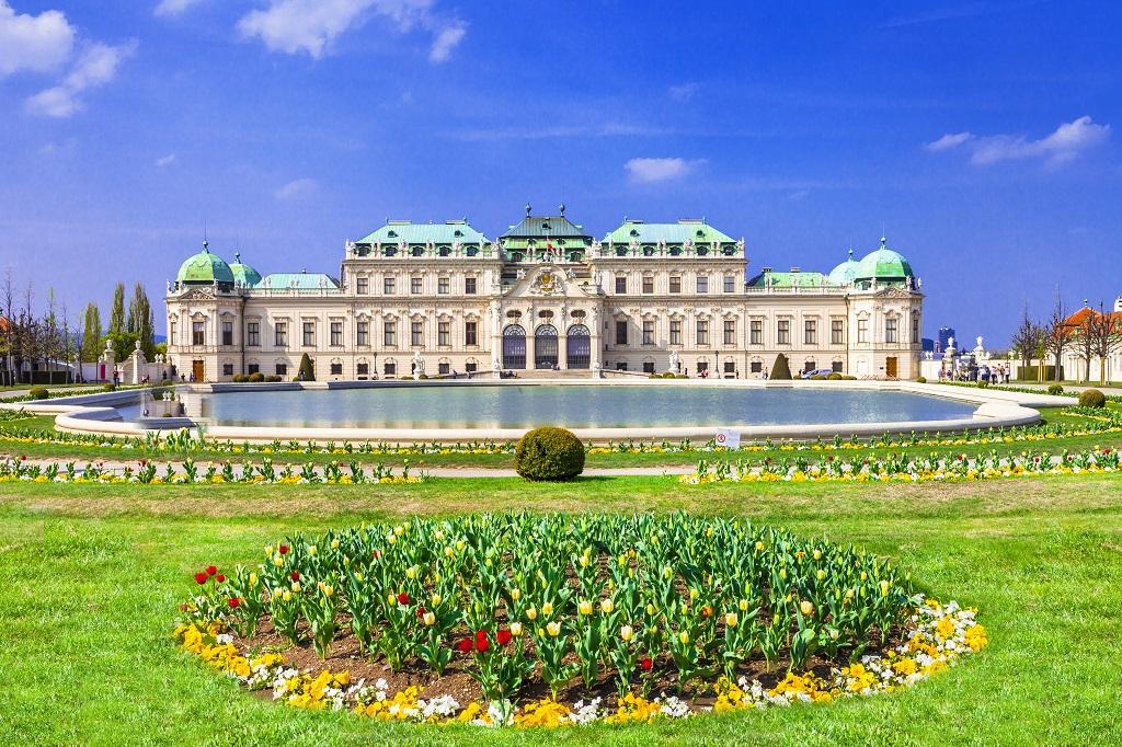Belvedere Palace Vienna Austria Tours