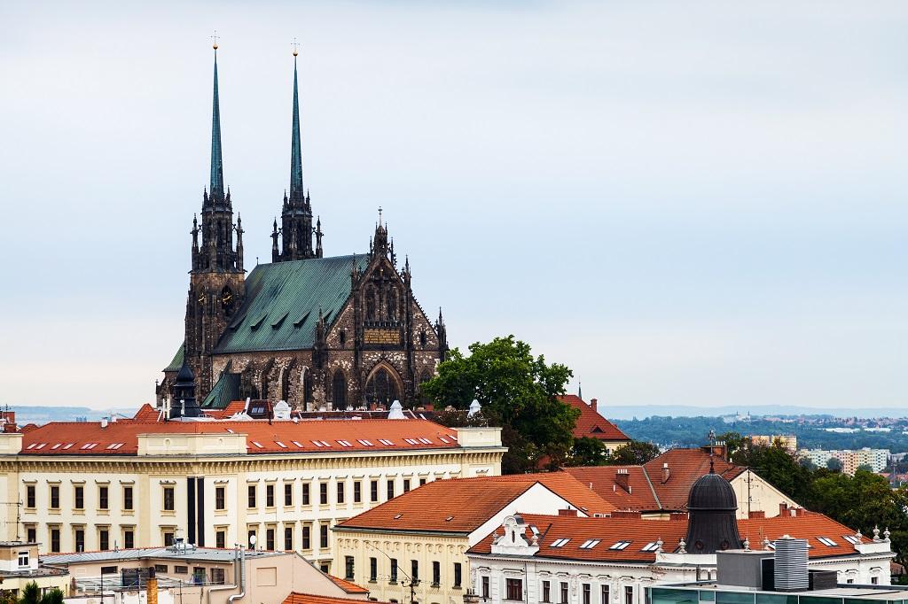 Brno Skyline Cathedral Slovenia Tours