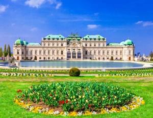Belvedere Palace Vienna Austria Tour