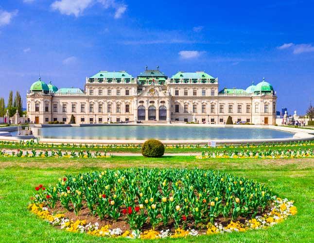 Vienna Belvedere Palace