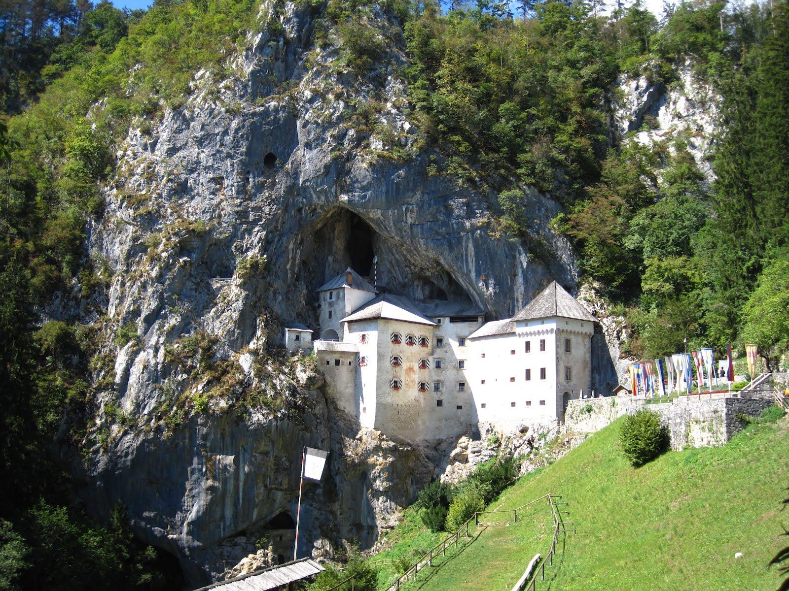 Predjama Castle Lake Bled