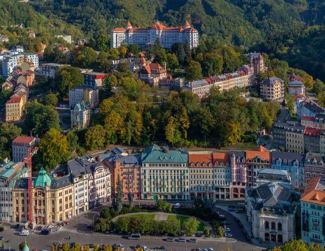 Karlovy Vary Czech Central Europe