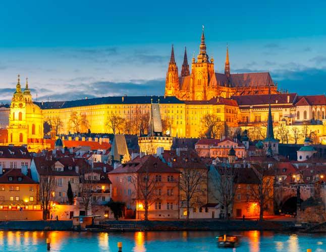Prague Castle Mala Strana Central Europe