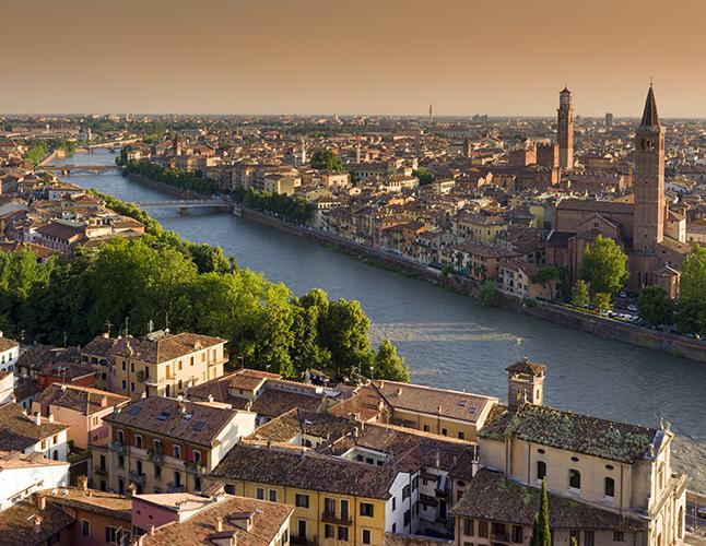 Vienna to Milan Verona