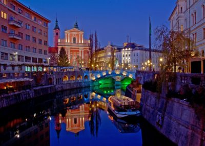 Ljubljana Centre Nightshot