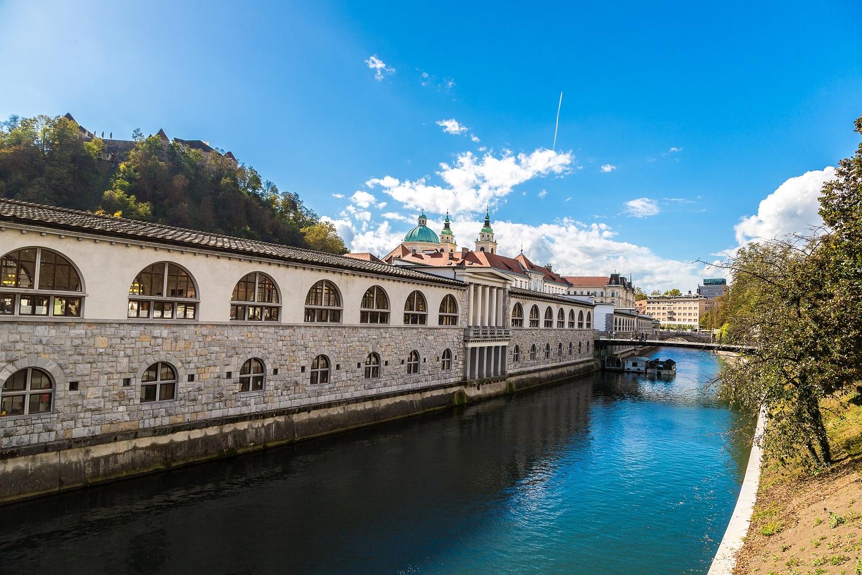 Ljubljana Ljubljanica River Family