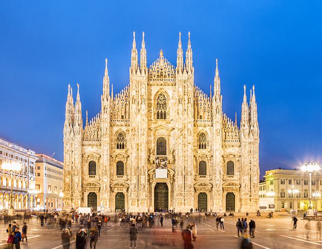 Vienna to Milan Cathedral