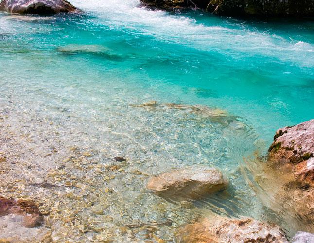 Slovenia-Mountain-River